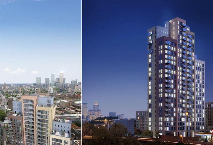 Квартиры в Лондоне от £ 202000 до £ 365000