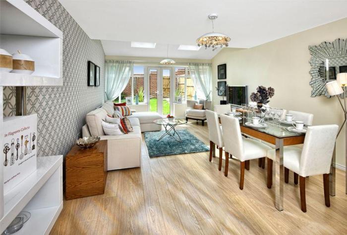 Дом в Англии на 3 этажа . 178 кв. м. £ 550000
