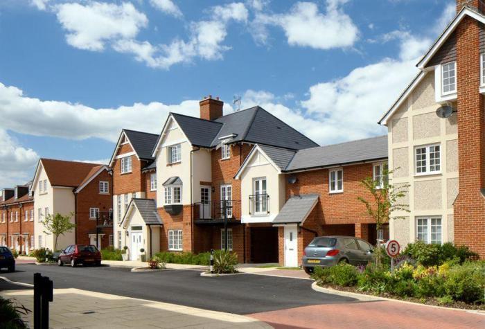Количество новых домов в Великобритании выросло на 7% в 2015 году