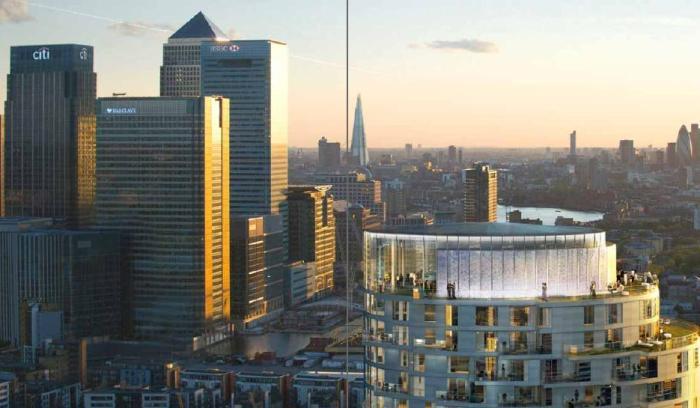 Инвестиции в недвижимость Лондона. Башня Canary Wharf