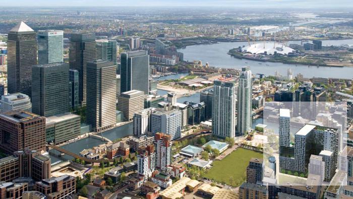 Инвестиции в недвижимость Лондона. Canary Wharf.