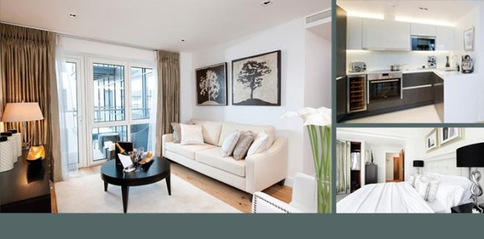 Средняя стоимость квартиры в Лондоне достигла 0,5 млн. фунтов