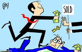 Конкуренция среди покупателей на рынке приводит к финансовым потерям и разочарованиям