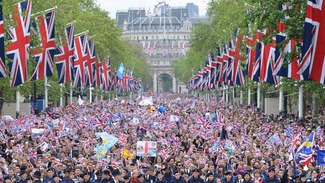 Население Лондона увеличилось на 1 млн. за 10 лет