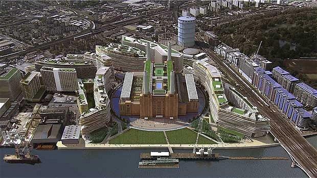 Здание электростанции в Лондоне модернизировано в жилой комплекс