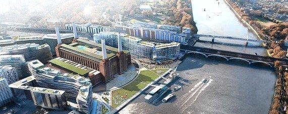 Бывшая электростанция Баттерси станет мировым шедевром Архитектуры