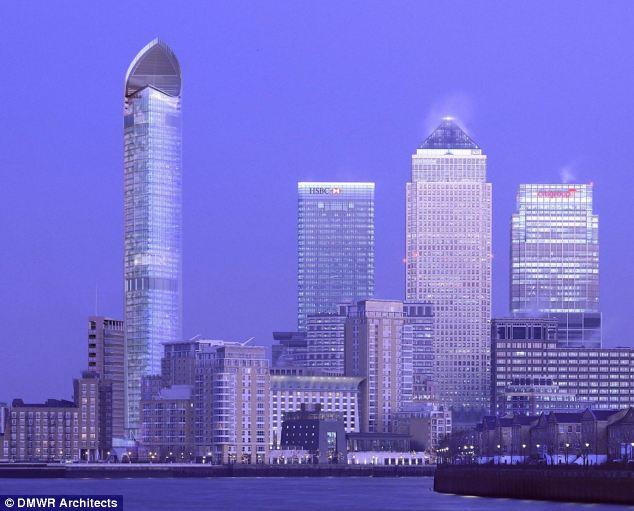 Canary Wharf — один из самых перспективных районов Лондона на ближайшие 10 лет