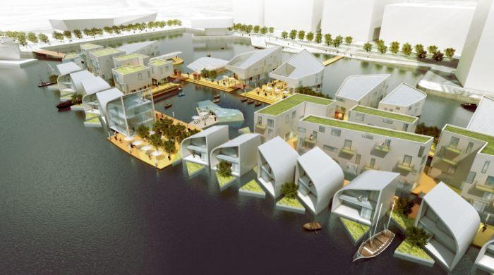 Уникальный плавучий город будет построен в Лондоне