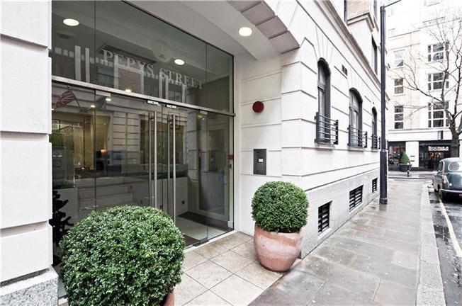 Квартира в районе Сити площадью 57,5 кв . м . стоимостью £655000