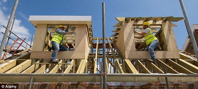 Бум в строительной отрасли Великобритании обеспечил подъем экономики