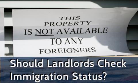Уже с декабря 2014 года арендодатели  должны проверять миграционный статус своих жильцов