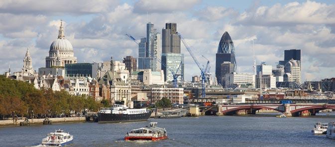 В Лондонском Сити — бум аренды коммерческих площадей