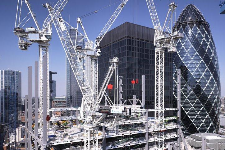 Инвестиции в коммерческую недвижимость Лондона достигли своего пика  начиная с 2007 года