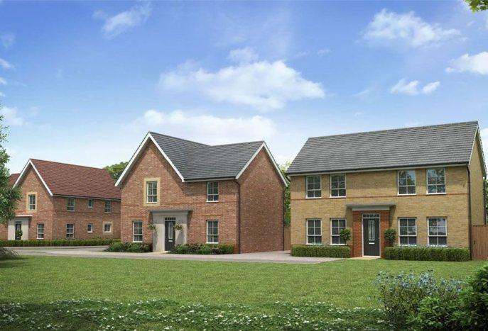 Новые дома в PETERBOROUGH ( Кэмбридшир)  — от   £ 155000
