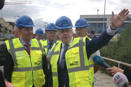 Строительство нового жилья в Лондоне идет опережающими темпами