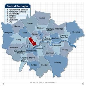 Кенсингтон и Челси — по- прежнему самый дорогой район Великобритании