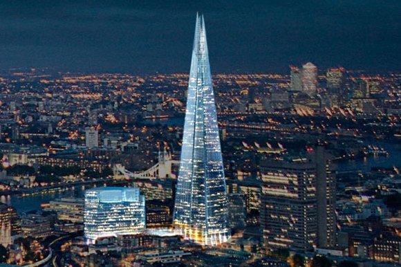 В районе небоскреба Shard  в Лондоне бум цен на недвижимость