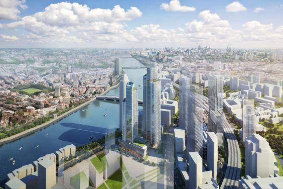 Более 35000 единиц элитной недвижимости будет построено в Лондоне