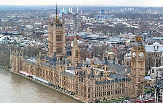 Временное здание Британского парламента будет таким же, как и основное
