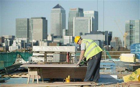 Объемы строительства в Великобритании выросли до рекордного уровня
