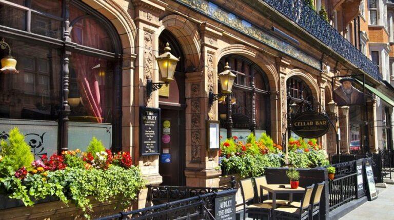 Коммерческие площади под кафе и рестораны в Великобритании опережают офисы и магазины по эффективности